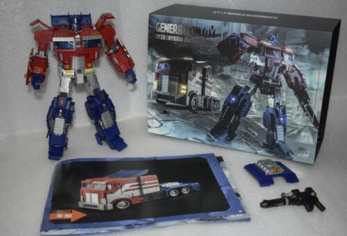 New Transformers Generation Toy GT-03 OP.EX IDW Optimus Prime Figure In Stock