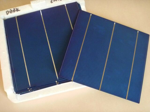90 pieces 6x6 156mm triple busbar poly solar cells panel Cellule solaire 320W