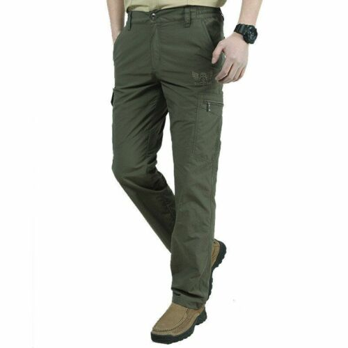 Pantalon Hommes Respirant Pantalon Imperméable Séchage Rapide été casual style militaire