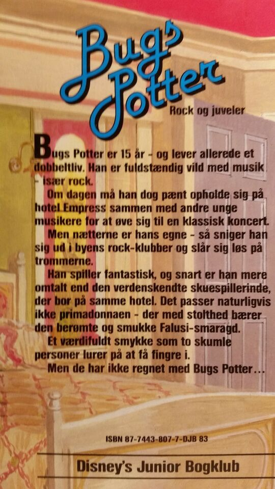 Bugs Potter - Rock og juveler, Gordon Korman