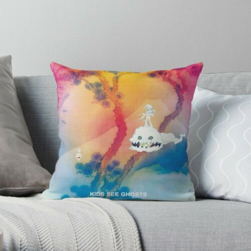 Kid Cudi KIDS SEE GHOSTS MERCH Throw Pillow Case Kanye West Cushion Cover