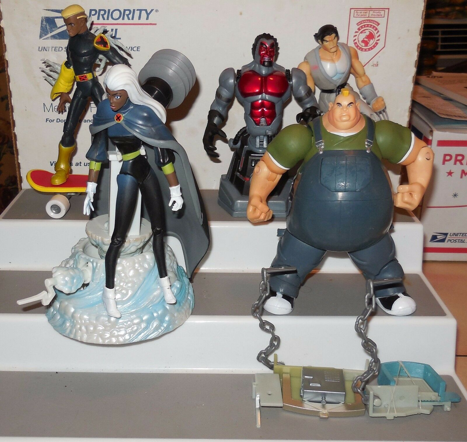 2001 Toybiz X Men Evolution 4 5