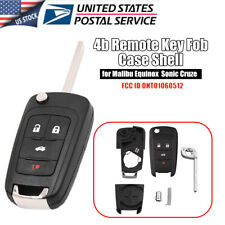 Remote Key Fob Shell Case For Chevy Camaro Cruze Equinox Malibu Oht01060512 Fits 2012 Chevrolet Cruze Lt