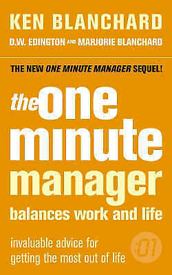 The One Minute Manager Balances Work and Life-ExLibrary