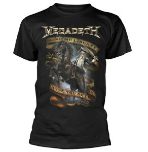 Megadeth-Give-Me-Liberty-Shirt-S-XXL-Metal-Band-Tshirt-Official-T-Shirt-New