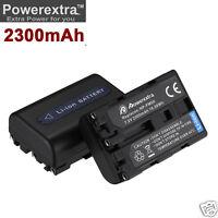 2x NP-FM50 Battery for Sony NP-FM30 A100 DSC-F717 DSC-S70 DCR-TRV950 DCR-DVD300
