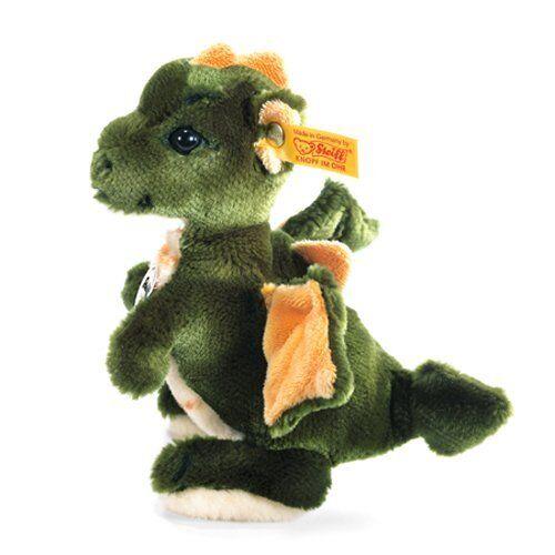 Steiff 015076 - Raudi Drachenjunge, grün, 17 cm