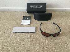3063c4002cd7 Serengeti 6752 Cascade Sunglasses Drivers Lens Black Frame for sale ...