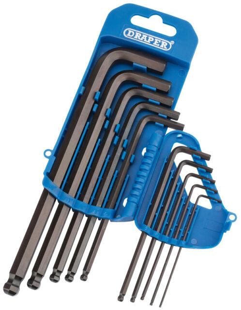 BGS Innen 6-kant Winkelschlüssel Set extra lang 5-10 mm 9 teilig kurze Seite ext