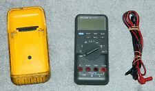 New Listingfluke 83 Digital Multimeter With Rubber Case Amp Leads
