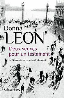 Deux veuves pour un testament von Leon, Donna   Buch   Zustand gut