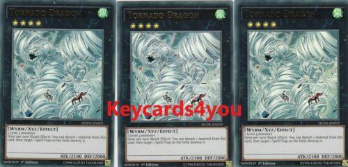 DUDE-EN019 ULTRA 1ST EDITION YUGIOH 3 X TORNADO DRAGON