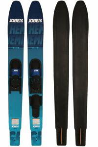 JOBE Hemi Combo Skis extra breite Wasserski Paarski Comboski Slalomski 165cm
