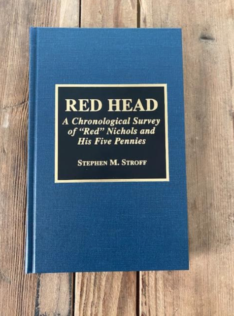 RED HEAD By Stephen M. Stroff - Hardcover **Mint Condition**