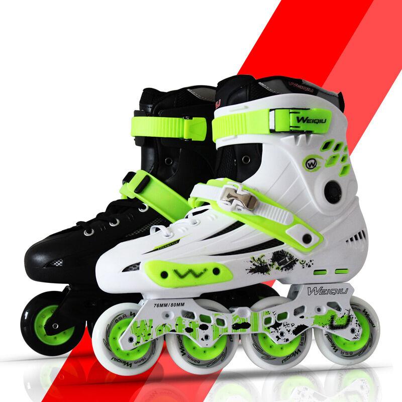Cool Boys Girls Adult Roller Blades Inline Skates Adjustable Größe Professional