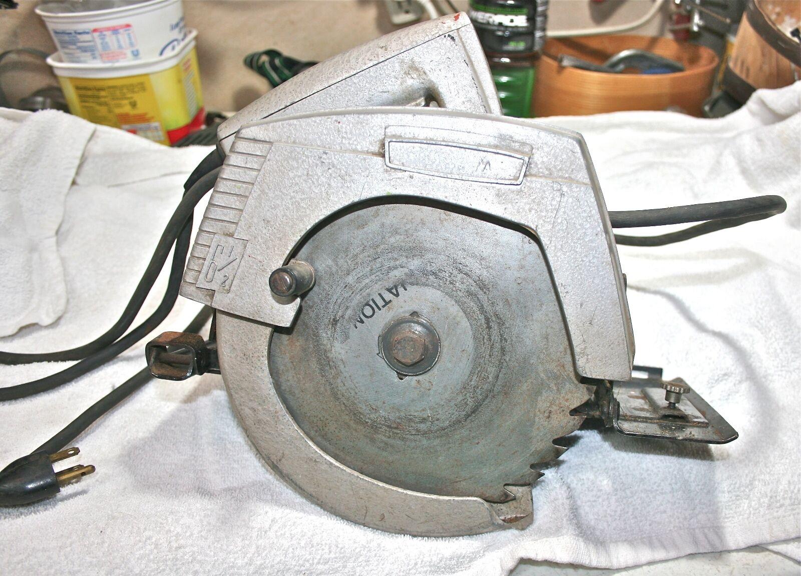 Vintage Simpson Sears 6 1/2'' power saw