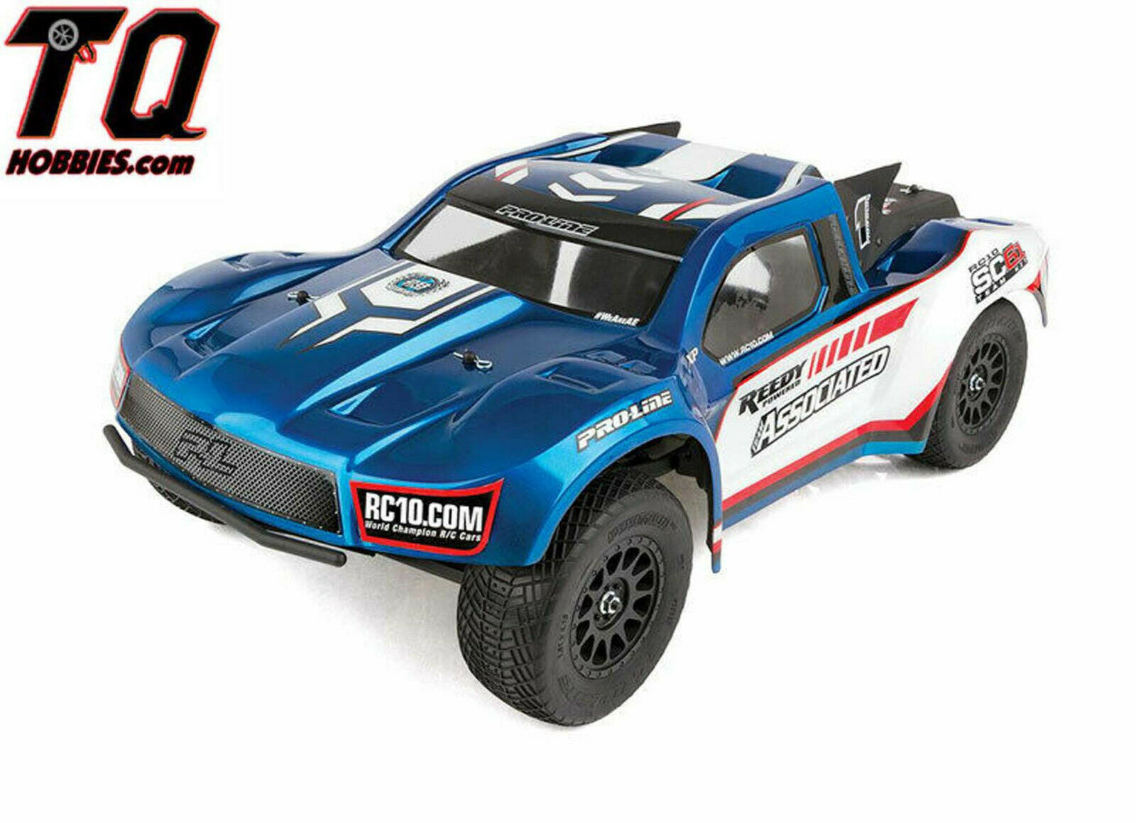 Team Associated 70007 RC10SC6.1 Team Edition Off Road 1 10 Short Course Tr 70007