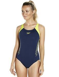 715b8addf01c2 Image is loading Speedo-Boom-Splice-Muscleback -Racerback-Swimsuit-8108216058-Swimming-