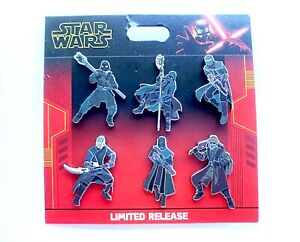 DISNEY-STAR-WARS-RISE-OF-SKYWALKER-KNIGHTS-BOOSTER-PIN-SET-LIMITED-RELEASE