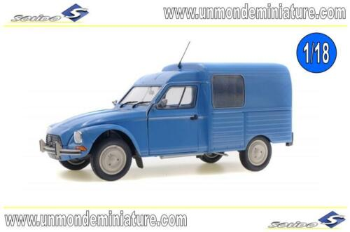 Citroën Acadiane Bleu Myosotis 1984 SOLIDO SO 1800401 Echelle 1//18
