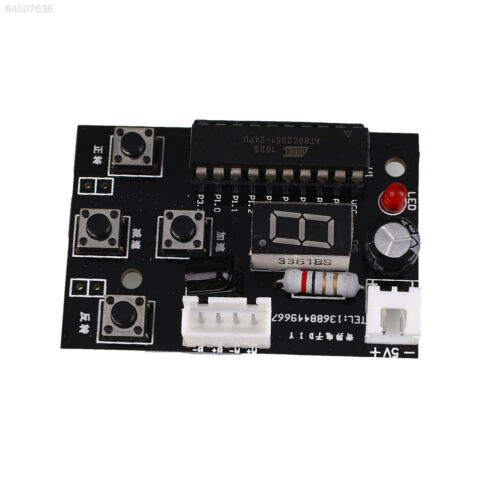 2FCB DC Adjustable Speed Stepper Motor Driver Controller with Remote Control 2 p