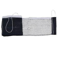Black Table Tennis Ping Pong Net Replacement Mesh Sports 161cm X15cm