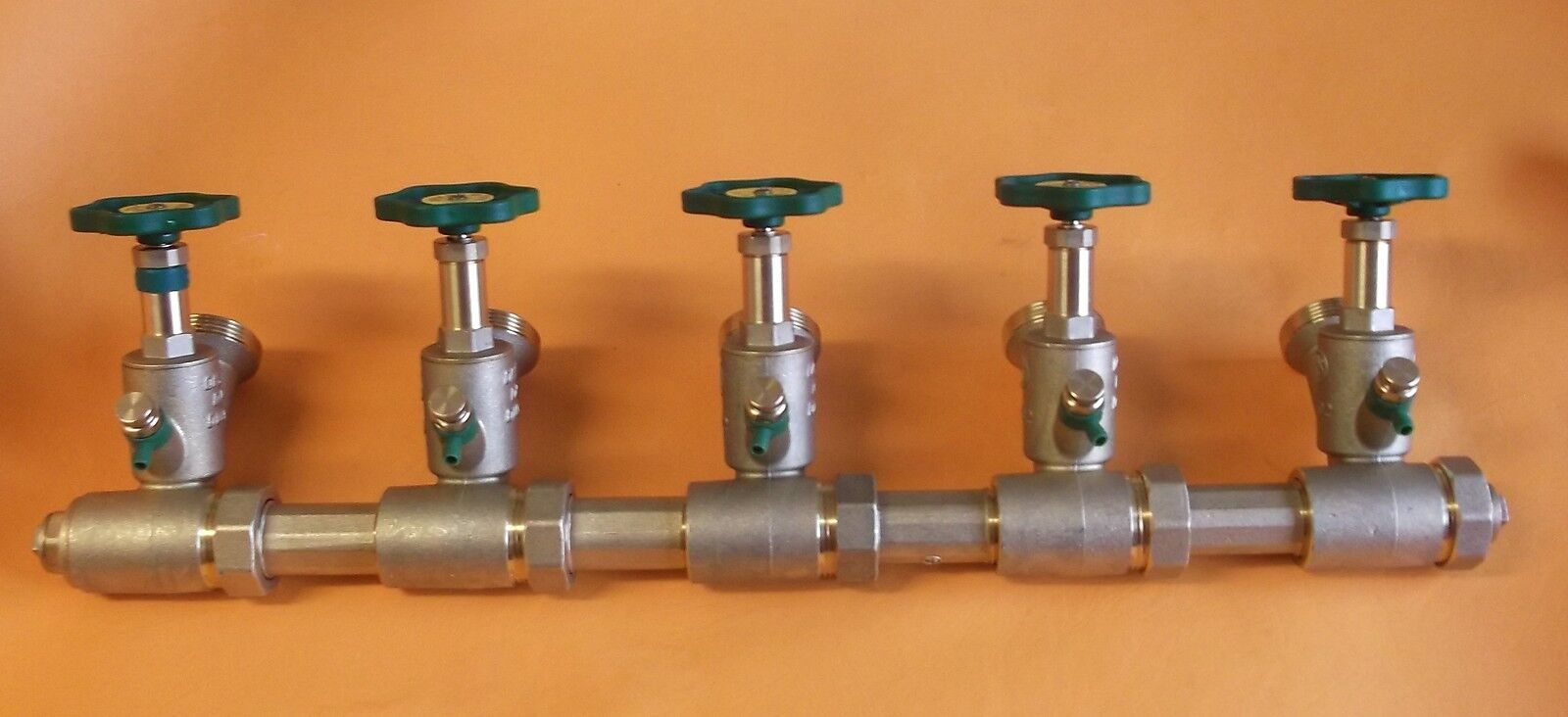 Schlößer Verteiler Kompaktverteiler Wasserverteiler DN25 A DN40, 5fach   9310285