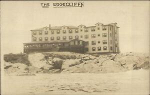 Gloucester-MA-The-Edgecliffe-Hotel-c1910-Real-Photo-Postcard