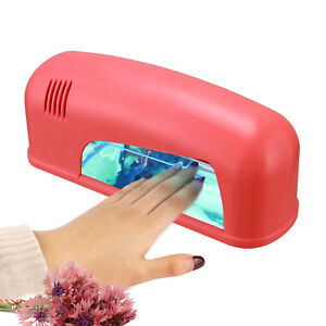 9W-Professional-110V-Pink-UV-Nail-Art-Gel-Polish-Curing-Light-Dryer-W-Tube-Lamp