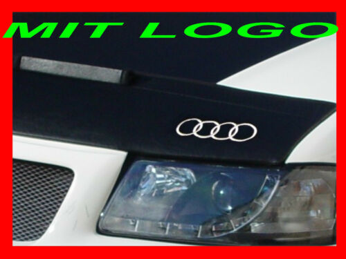 Bra Pour Audi q3 Année de construction à partir de 2011 avec logo emblème Chutes De Pierres Protection Haubenbra