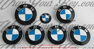 Blanc-et-Bleu-M-Sport-Badge-Embleme-Superpose-pour-BMW-Coupe-Coffre-Jantes-Tous