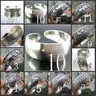12 style ! Beautiful!Tibetan Tibet Silver Totem Bangle Cuff Bracelet