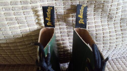Rare Green Festival England Martens Skin 4 Ankle Dr Size Punk Vintage gHpqHT