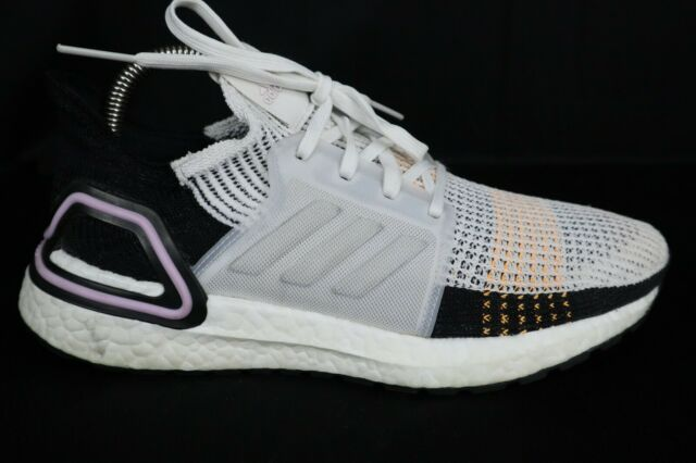 Adidas Ultra BOOST 19 - G27481 Crystal White/Core Black  Women's Shoes sz 7.5