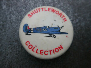 Shuttleworth-Collection-Pin-Badge-Button-L8B