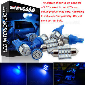 Image Is Loading Interior Car Led Map Dome Light Bulbs Kit