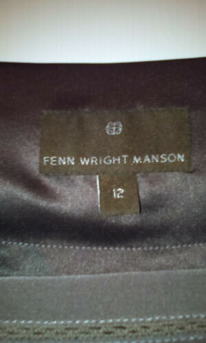 Taille12 Pure Faon Fenn Soie Robe Manson Wright Yw68x8zR