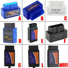 ELM327 V2.1 OBD2 CAN-BUS Bluetooth or WIFI Car Auto Interface Scanner lot C1