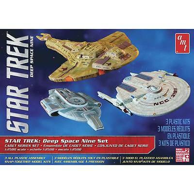 AMT 1/2500 Star Trek Cadet Series Deep Space 9 Plastic Model Kit 764 AMT764