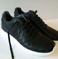 57320015d06d item 4 Nike Roshe Tiempo VI QS One Run Men s 10 Black Leather Sneakers ( 853535 002) NEW -Nike Roshe Tiempo VI QS One Run Men s 10 Black Leather  Sneakers ...
