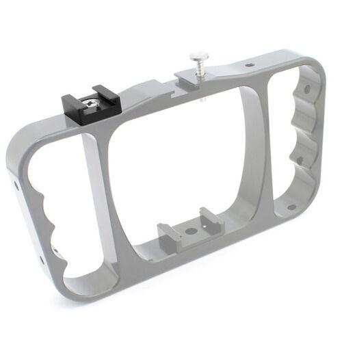Adaptador de soporte de montaje en zapata fría para flash Micrófono CámaraGK XM