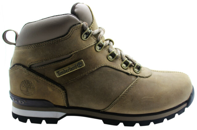 Timberland Splitrock 2 Mens Hiker Boots Brown Leather Lace Up Hiking 6821R D105