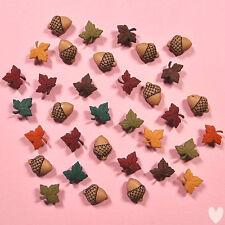 DRESS IT UP Buttons Fall Medley 1193 - Autumn Embellishments