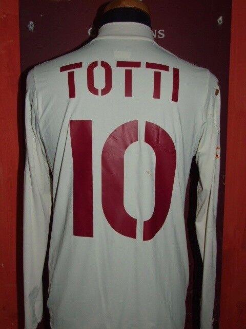 TOTTI ROMA 2004-2005 MAGLIA SHIRT CALCIO SOCCER FOOTBALL FOOTBALL FOOTBALL JERSEY MAILLOT CAMISETA   Costi Moderati  7dc119