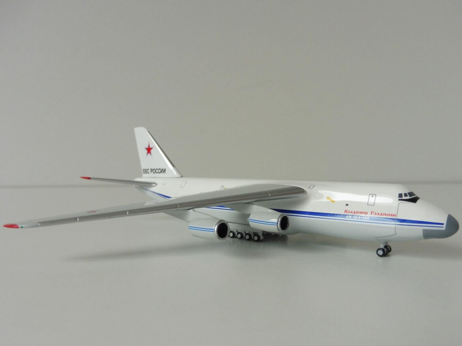 Antonov an-124 Ruslan Russian Air Force 1 500 Herpa 530095 Антонов Antonov