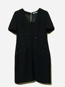 P Embellished Shift Dress