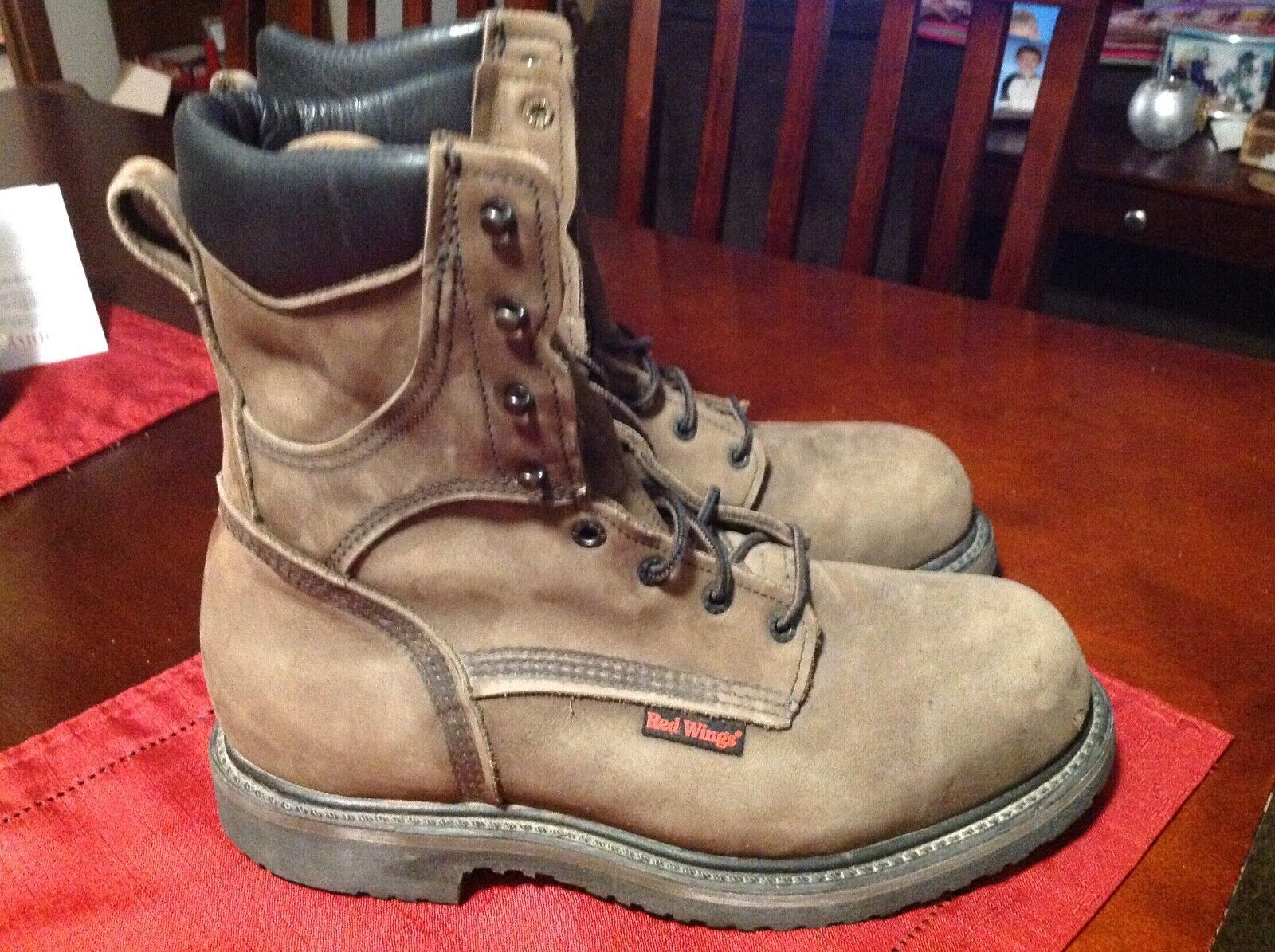 GENUINE ,VINTAGE RED WING 2282 WORK BOOTS SIZE 8.5