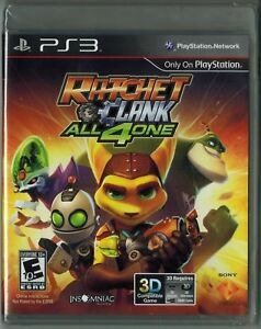 Ratchet-amp-Clank-All-4-One-Sony-PlayStation-3-2011-Factory-Sealed