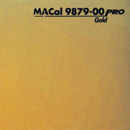 1 m 13,95 € //m Autofolie PKW KFZ Folie gold glänzend 61,5 cm
