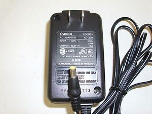 OEM-Canon-K30081-Ac-Adapter-23W-13-5V-1-0A-AD-300-BJC-Compatible